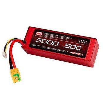 VENOM 15188 LiPo 3S 11.1V 5000mAh 50C XT90-S Nero