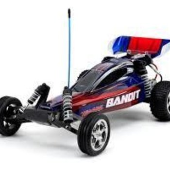 Traxxas Bandit Extreme Buggy, RTR, w/TQ 2.4GHz , Blue
