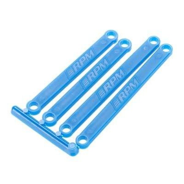 RPM 81265 Camber Links Blue Molded E-Rustler/E-Stampede