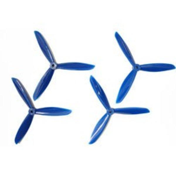 6x4.5 DAL Tri-Prop: Blue 4pk