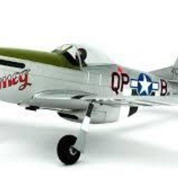 UM P-51D Mustang RTF w/AS3X