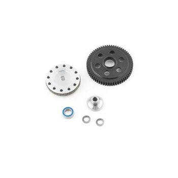 Gen 3 Slipper Unit 64t Blk Steel Spur; Axial Yeti