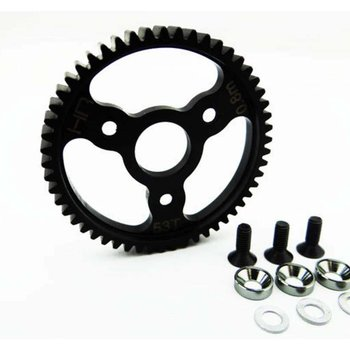 HOT RACING SJT253 Gunmetal 53T Steel Spur Gear 32P .8 mod