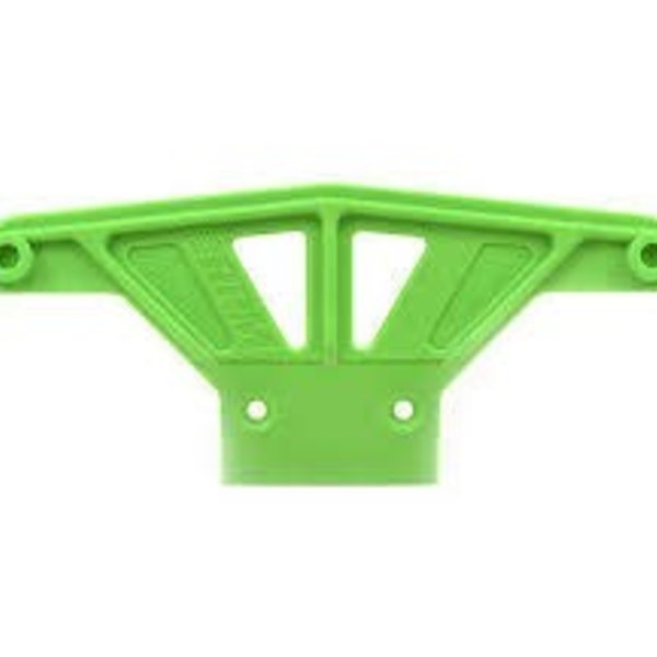RPM 81164 Front Wide Bumper Green Traxxas