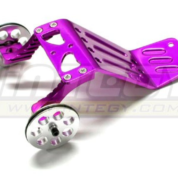 Integy T6916PURPLE EVO3 WILLY BAR HPI