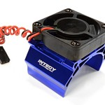 arrma High Speed Cooling Fan+Heatsink Mount for 42mm O.D. Motor C25862BLUE