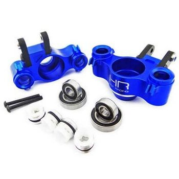 HOT RACING RVO21XG06 Aluminum Graphite XD Knuckle w/Bearing Blue