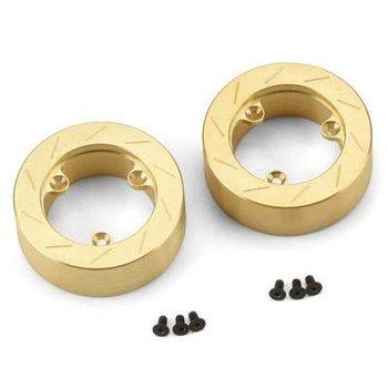 PROLINE 6292-01 Brass Brake Rotor Weights (2) for 6 Lug 12mm