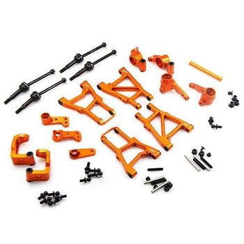 YEAH RACING YEAH RACING HPI SPRINT 2 ALUMINUM UPGRADE SUSPENSION DRIVETRAIN KIT SPT2-S01OR