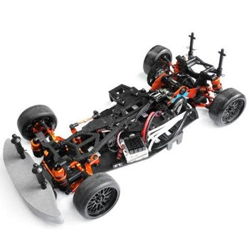 YEAH RACING SPT2-S04OR YEAH  RACING HPI SPRINT 2 ORANGE ALUMINUM RWD DRIFT CONVERSION KIT