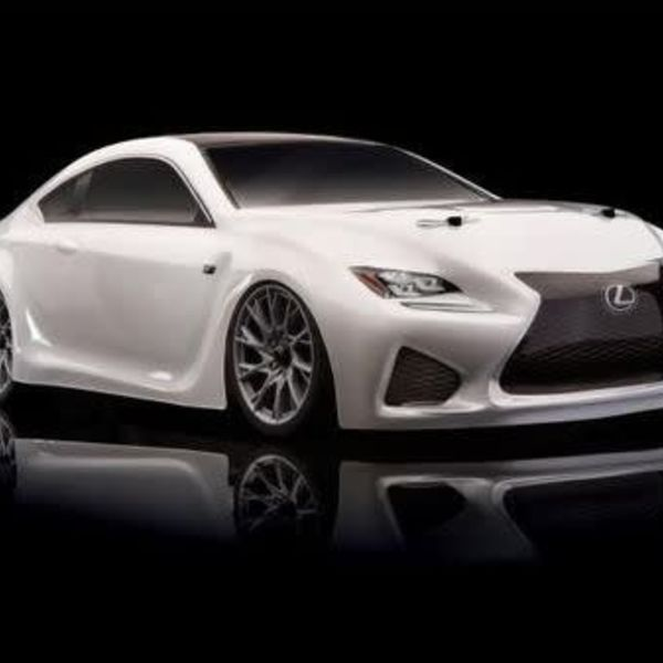 Associated Electrics 30118 Apex Lexus RC F Brushless RTR White
