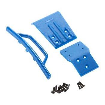 RPM 80025 FR BUMPR/SKID PLATE BLUE