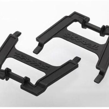 Traxxas 6426X Battery hold-downs, tall (2) (allows for installation of taller, multi-cell batteries)