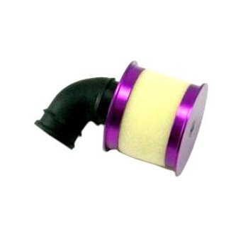 redcat Aluminum capped air filter w/ element (purple) ~