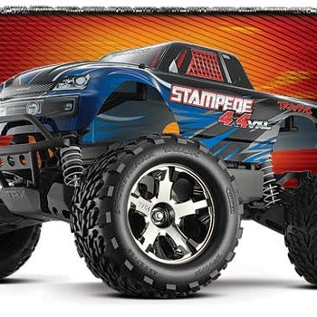 Traxxas Stampede 4x4 VXL w/ 2.4GHz Radio and TSM