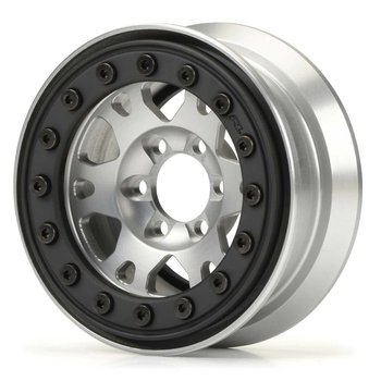 "PRO 2762-00 Pro-Forge 1.9"" Alum/Black Bead-Loc 6 Lug Wheel"