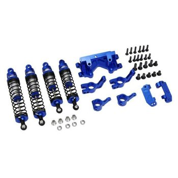 HOT RACING X Spede XPTE929P06 Blue Suspension Tuning Hop up Set Traxxas 1/10 2WD
