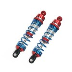 4139R ALUM FRT SHOCK SLASH RED