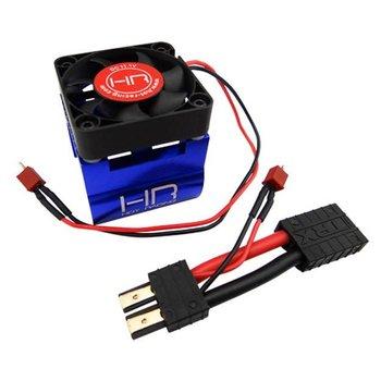 Traxxas Blue Monster Blower Heat Sink Fan w/ Traxxas Conn - 1/8 Motors