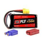 VENOM 25005 LiPo 2S 7.4V 1300mAh 30C Universal Plug 2.0 Fly