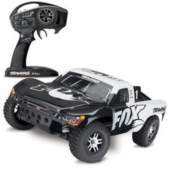 Traxxas 68086-4 1/10 Slash 4X4 4WD Electric SC Fox edition