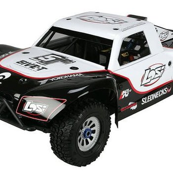 LOSI 1/5 5IVE-T 4WD-Off-RoadTrk WhtBD