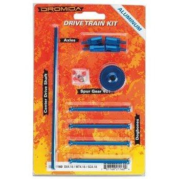 Dromida Drive Train Aluminum Upgrade Kit BX MT SC 4.18