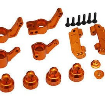 HOT RACING Orange Suspension Beef up Set Traxxas 1/10 2WD