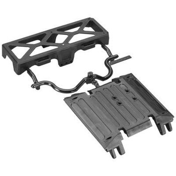 axial AX80079 Tube Frame Skid Plate/Battery Tray Wraith
