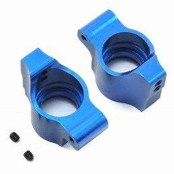 Associated Electrics B64 Factory Team Blue Aluminum Rear Hubs