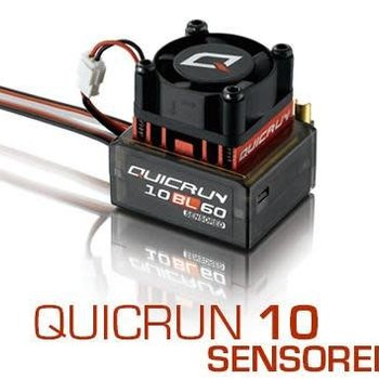 25.5t crawl motor w/60 amp sensored esc combo