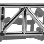 RPM 80123 Rear Bumper Chrome Slash 4x4