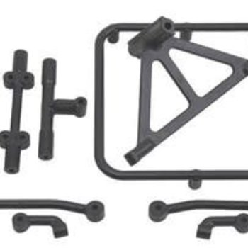 RPM R/C Products SINGLE SPARE TIRE CARRIER FOR TRAXXAS SLASH 2WD & 4X4