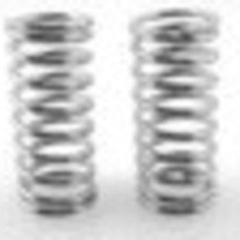 HOT RACING High Lift Shock Springs (chrome 15lb/in)(2) - Traxxas GTR Shocks