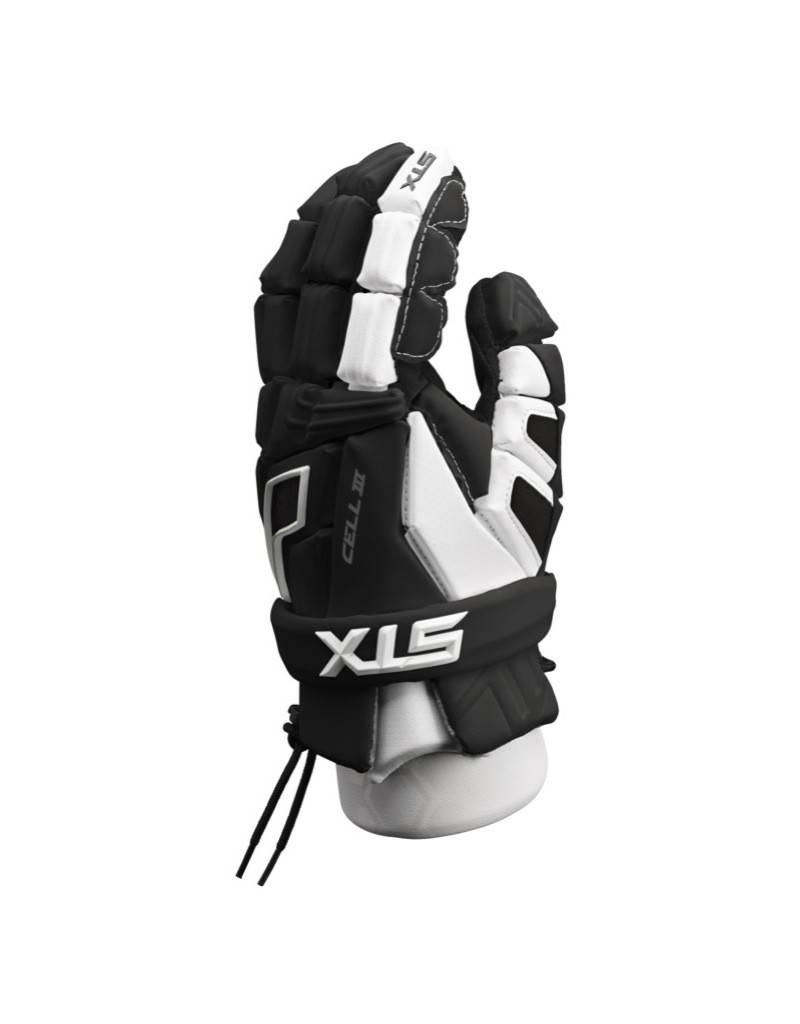 STX STX CELL III GLOVES -BLACK/WHITE,MEDIUM