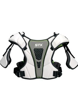 STX STX CELL III SHOULDER PAD - WHITE,SMALL