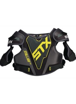STX STX STALLION 100 SHOULDER PAD - BLACK,XSMALL