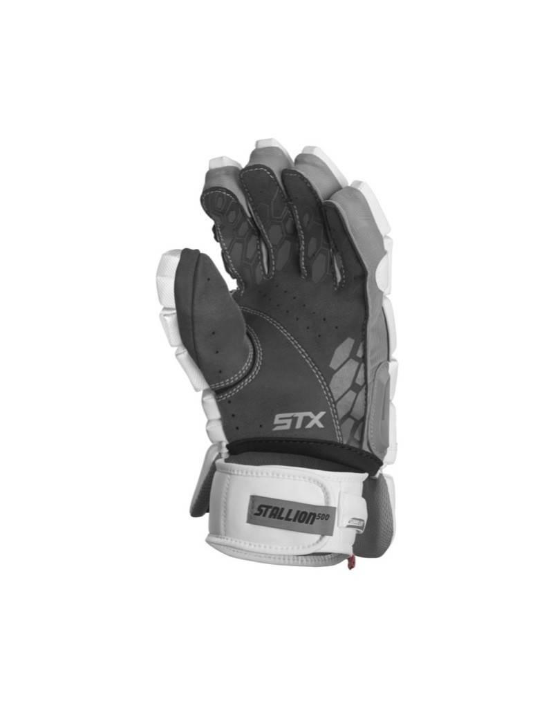 STX STX STALLION 500 GLOVES - WHITE,MEDIUM