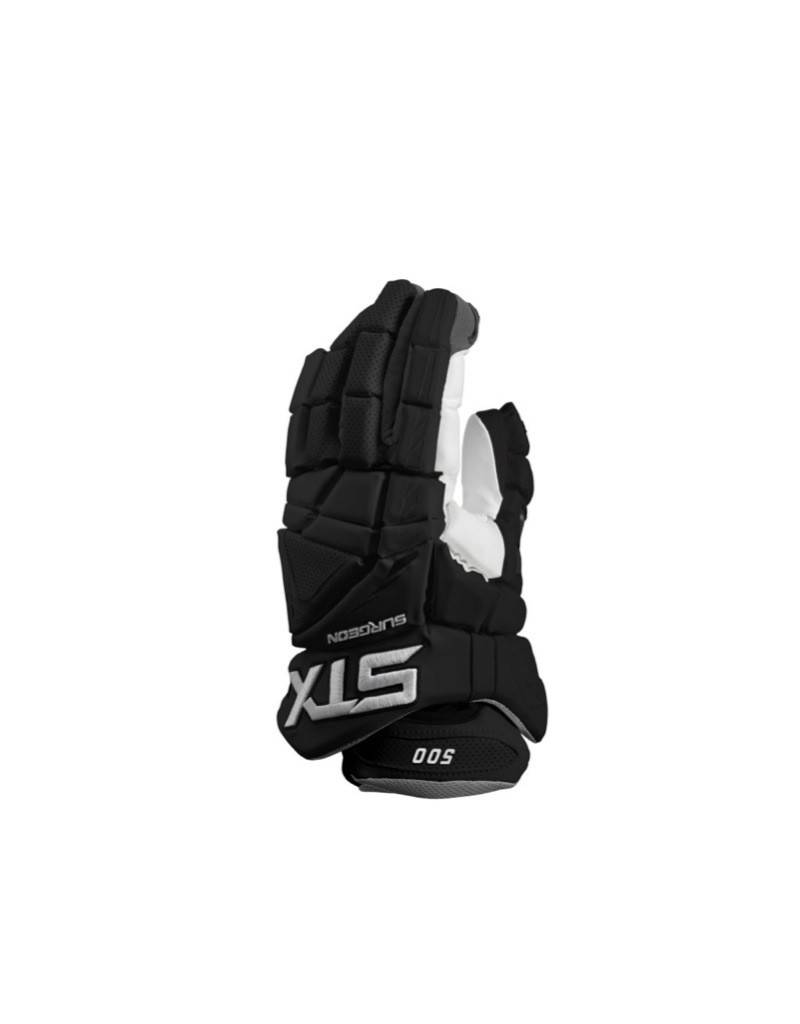 STX STX SURGEON 500 GLOVES - BLACK,MEDIUM