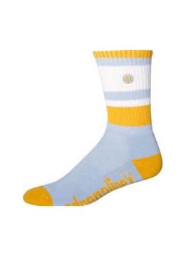 ADRENALINE ADRENALINE MESHTOP SOCK, CAROLINA/GOLD