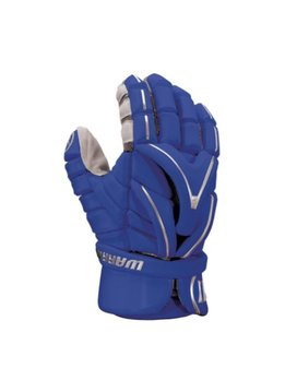 WARRIOR LACROSSE WARRIOR EVO GLOVE, ROYAL, L