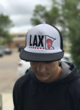 NORTHSTAR LAX MINNESOTA TRUCKER HAT