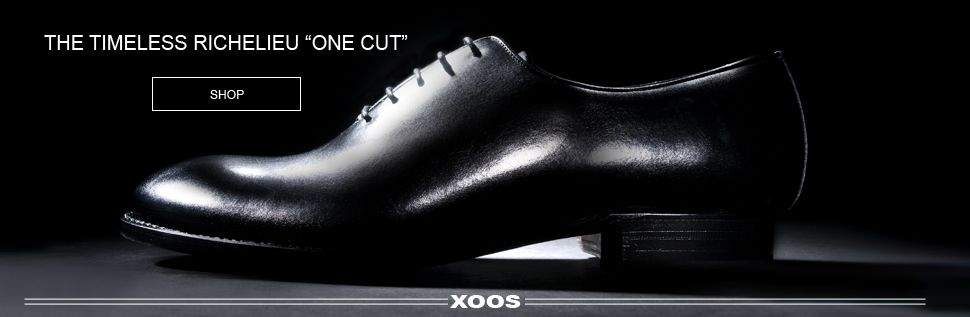 The icnonic One cut Richelieu. Original goodyear welted and made by hand