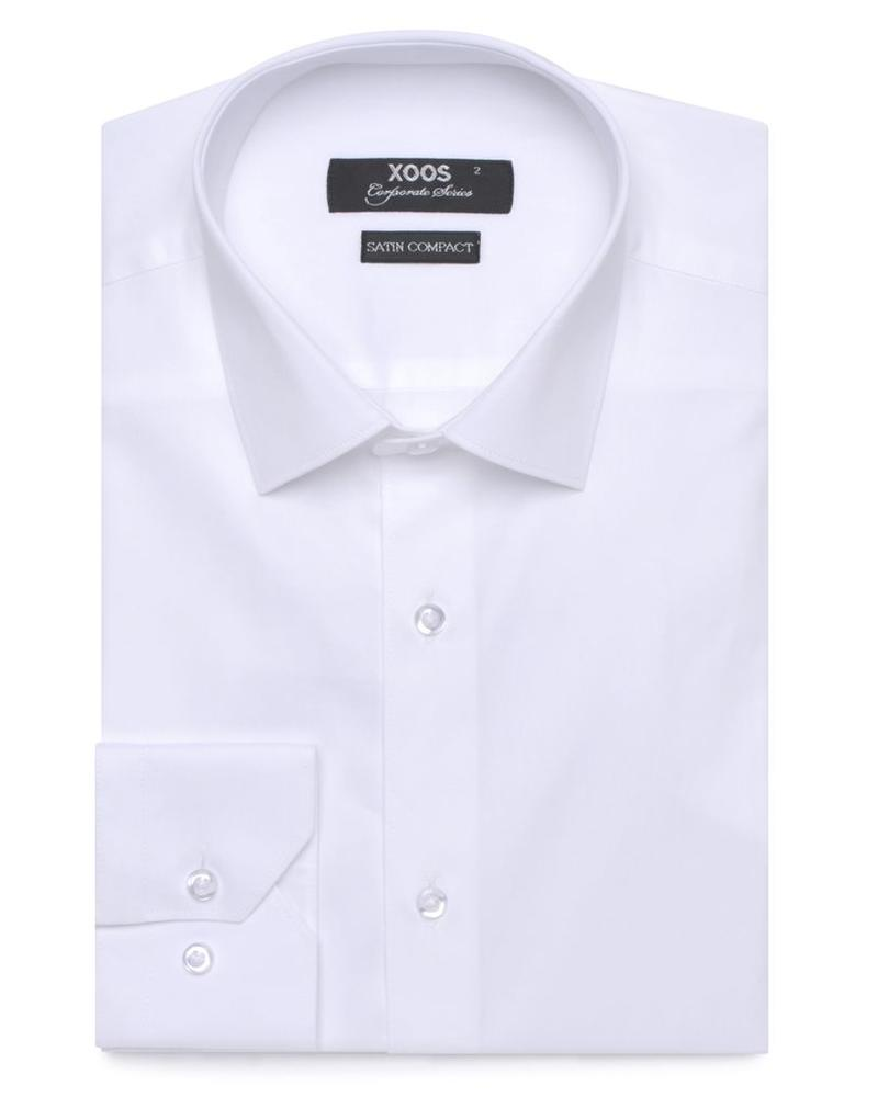 XOOS White fitted dres shirt