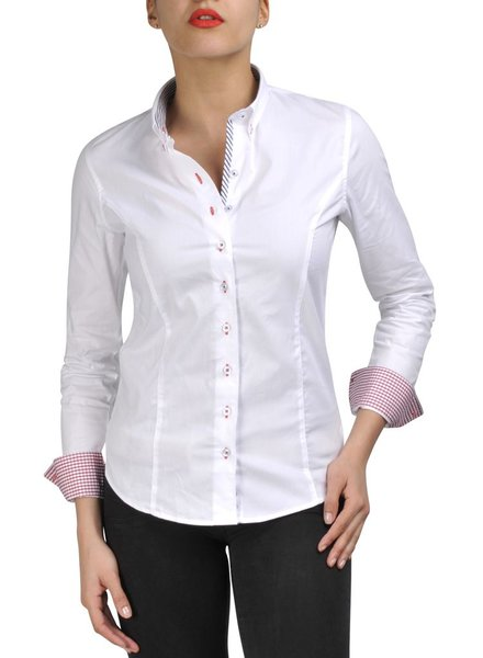XOOS White French Riviera Ladies Blouse