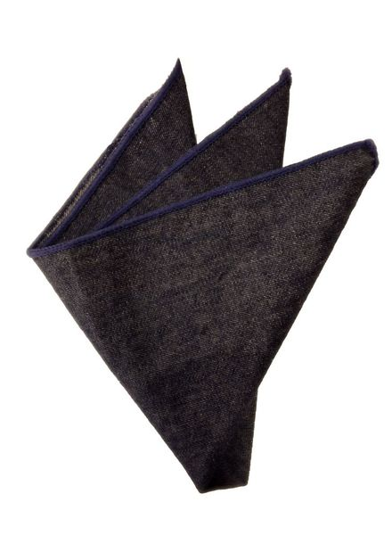 Denim pocket square