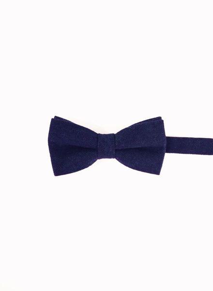 Nœud papillon caviar bleu indigo