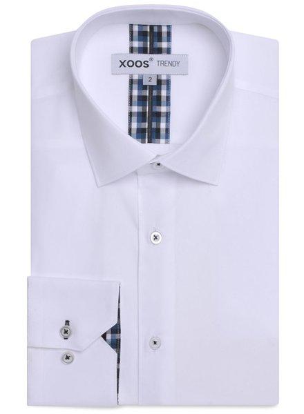 XOOS White shirt scottish clan lining