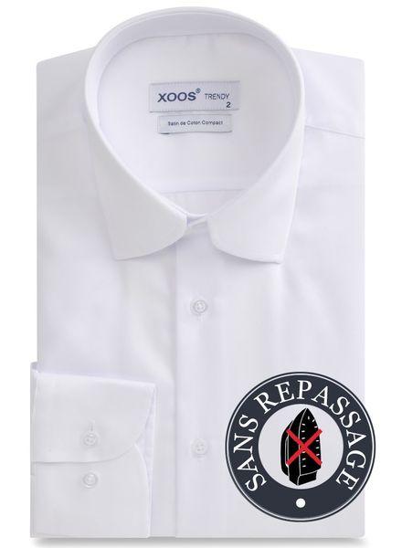 XOOS White NON IRON men's dress shirt (EASY CARE)