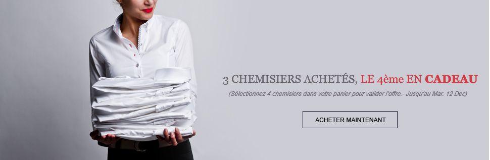 Chemisiers pour femme 100% coton. Modèles en séries limités.